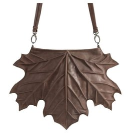 by-Lin Dutch Design by-Lin Dutch Design Maple Leather Shoulder Bag-backpack
