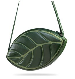 by-Lin Dutch Design by-Lin Dutch Design Daun Leathershoulder bag green