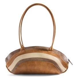 by-Lin Dutch Design by-Lin Dutch Design Rainbow leather shoulder bag