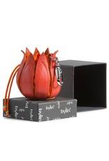 "by-Lin Dutch Design Leren Portemonnees - by-Lin My Little Tulip Lederen sleutelhanger ""Ibiza"""