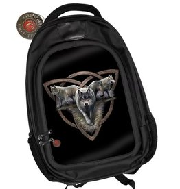 Anne Stokes Anne Stokes 3D lenticular backpack Wolf Trio