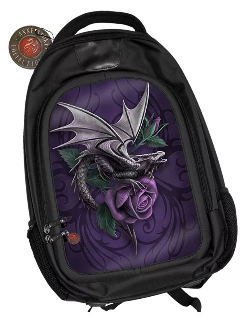 Anne Stokes Fantasy bags and wallets - Anne Stokes 3D lenticular backpack Dragon Beauty
