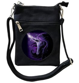 SheBlackDragon SheBlackDragon Black Magic Unicorn 3D mini crossbody tas