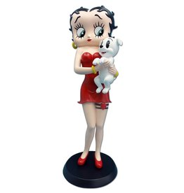 Betty Boop Betty Boop Holding Pudgy