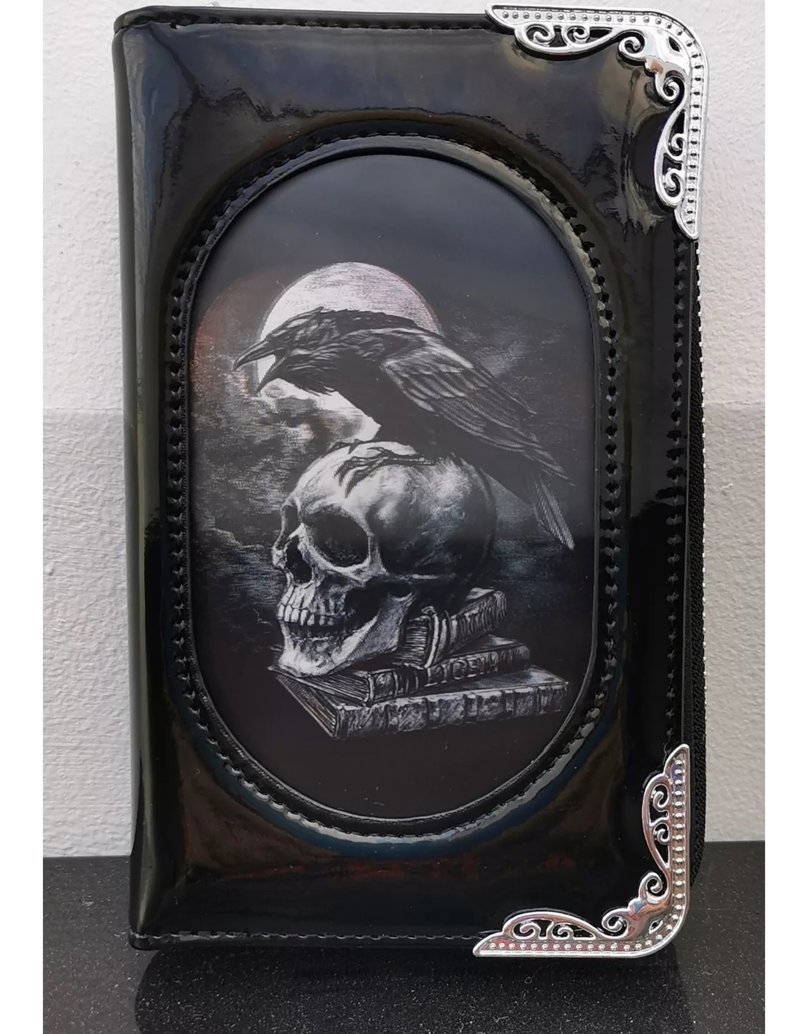 Alchemy Gothic wallets and purses - Alchemy 3D lenticular purse Poe's Raven