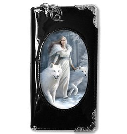 Anne Stokes Anne Stokes 3D lenticular purse Winter Guardian