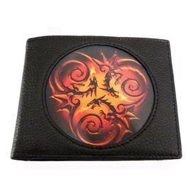 Anne Stokes Anne Stokes 3D lenticular purse Tribal Dragon (Age of Dragons)