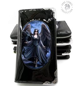 "Anne Stokes Anne Stokes 3D lenticular purse ""Raven"""