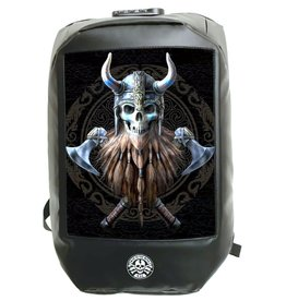 "Anne Stokes Anne Stokes Bad to the Bone ""The Viking"" 3D Laptop rugtas"