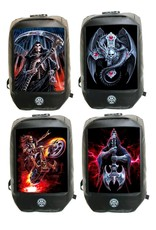"Anne Stokes Gothic tassen Steampunk tassen - Anne Stokes Bad to the Bone ""The Watcher"" 3D Laptop rugtas"