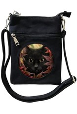 SheBlackDragon 3D Tassen en Rugzakken - SheBlackDragon Autumn Cat 3D Mini Crossover tas