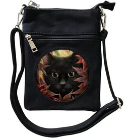 SheBlackDragon SheBlackDragon Autumn Cat 3D Mini Crossover tas