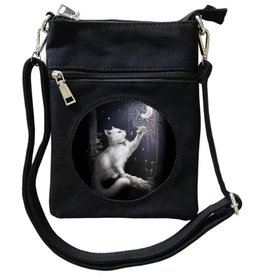 SheBlackDragon SheBlackDragon Snow Kitten 3D Mini Crossover tas