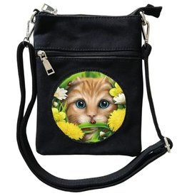 SheBlackDragon SheBlackDragon Summer Cat 3D Mini lenticular Cross-over bag