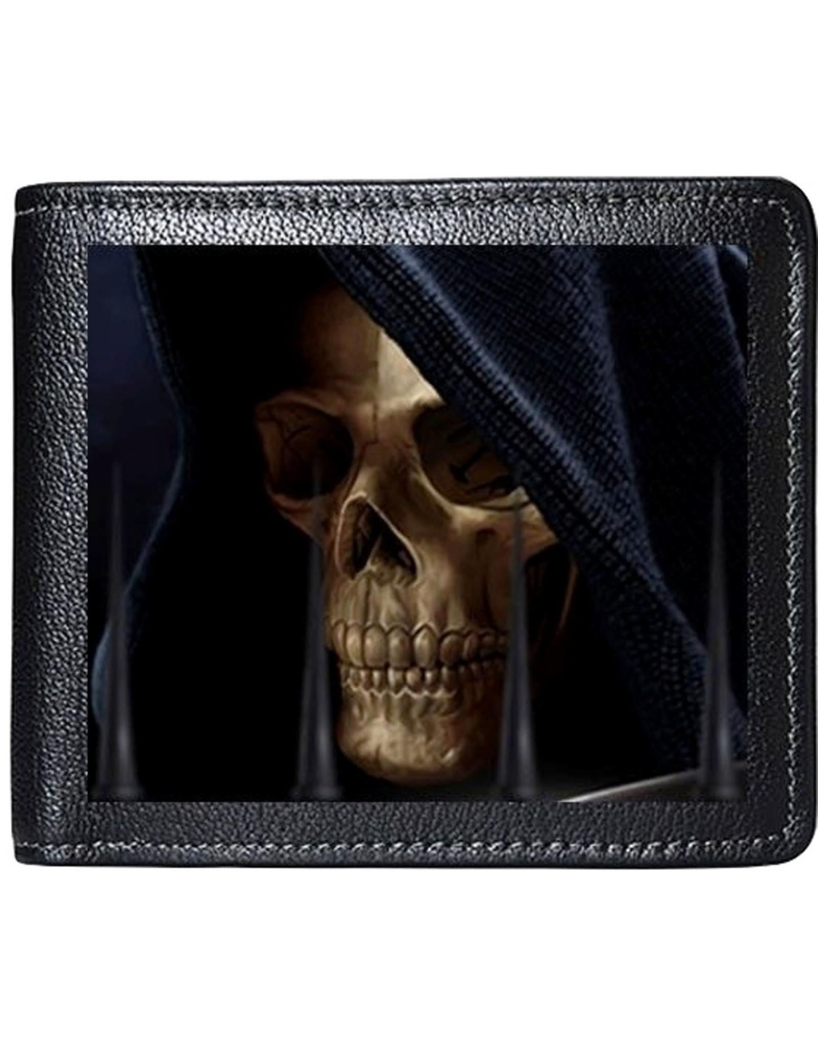 Tom Wood 3D Wallets and Purses - Tom Wood Fantasy Art 3D Lenticular Wallet Reaper
