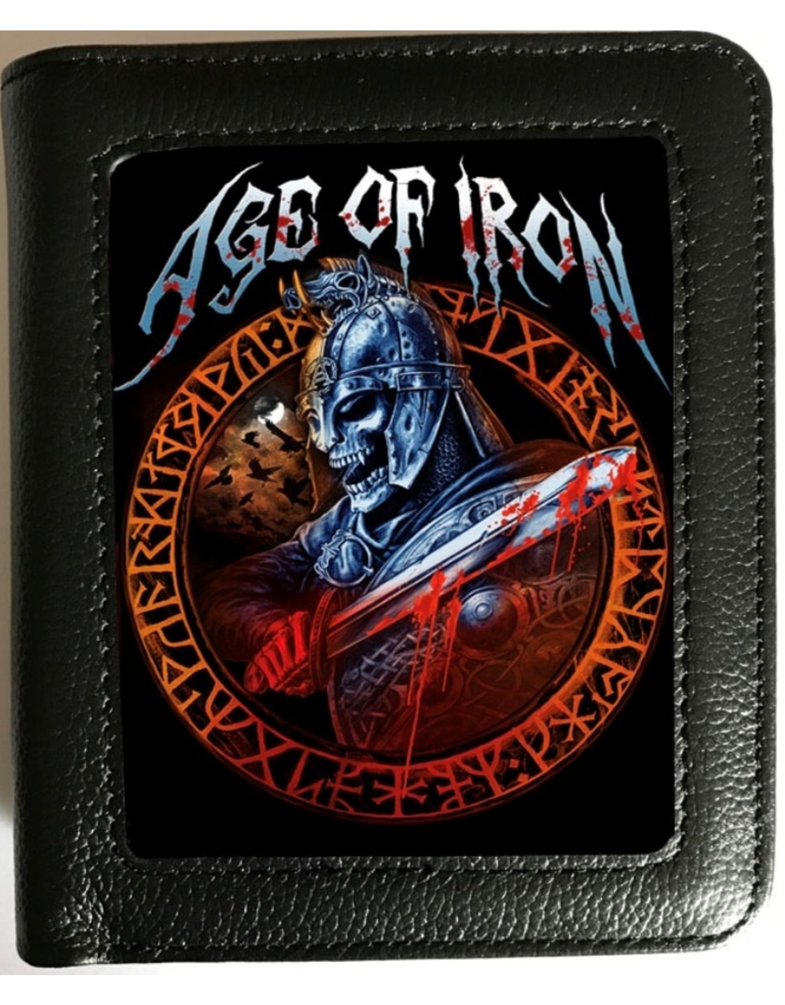 Alchemy 3D Wallets and Purses - Alchemy 3D Lenticular Wallet Age of Iron