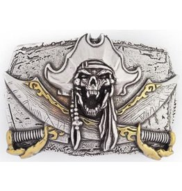 "Boom Belts Buckle ""Pirate's Cry"""