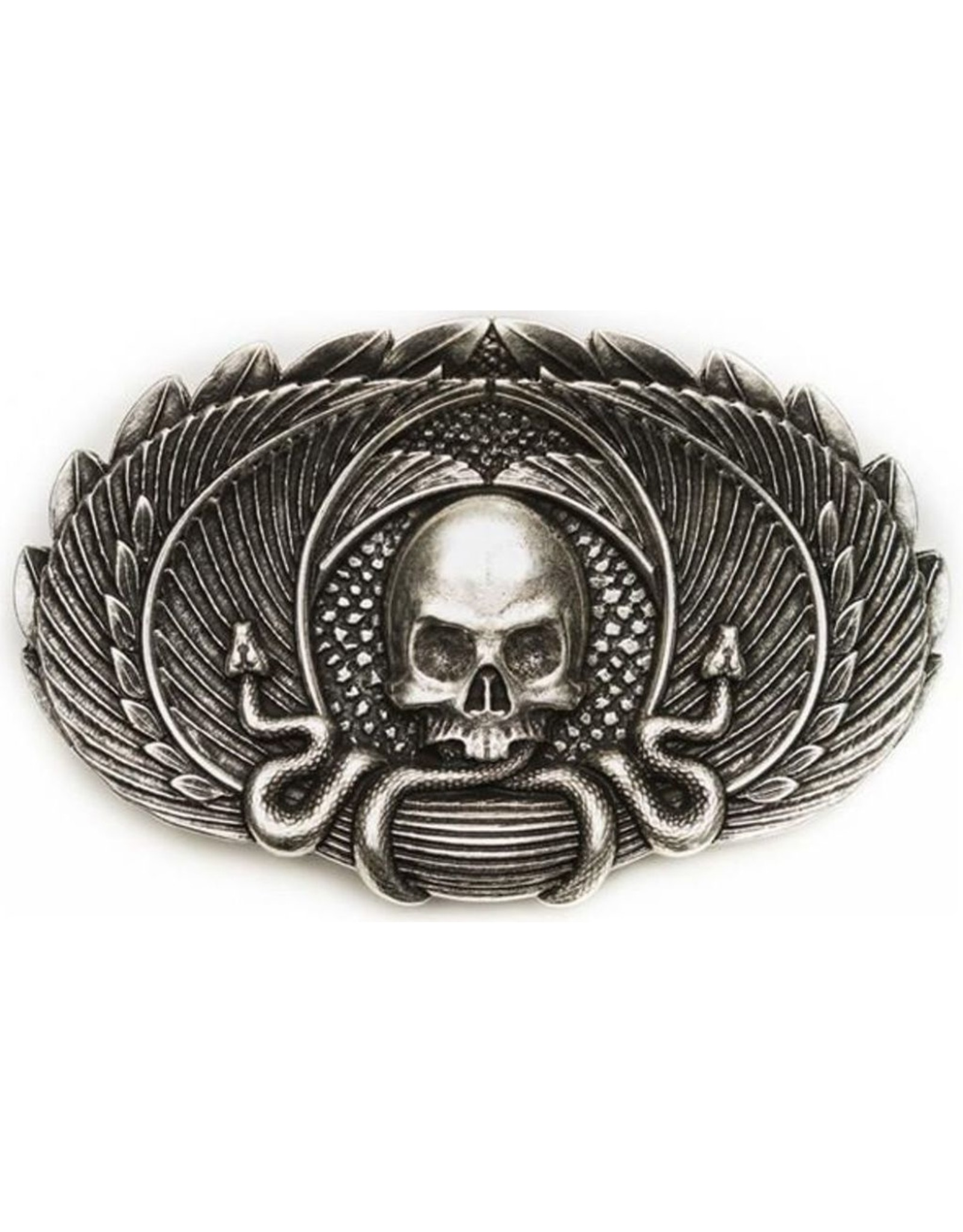"""Acco Leather belts and buckles - Buckle """"Myth of the Snake"""""""