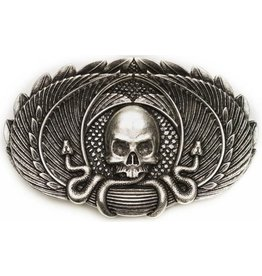 """Boom Belts Buckle """"Myth of the Snake"""""""