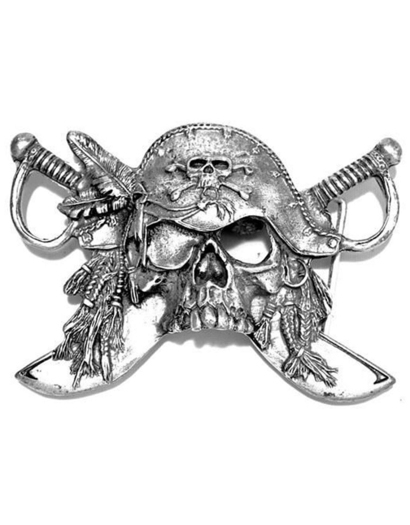 """Acco Leather belts and buckles - Buckle """"Pirates Sword"""""""
