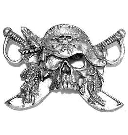 "Boom Belts Buckle ""Piraten Zwaard"""