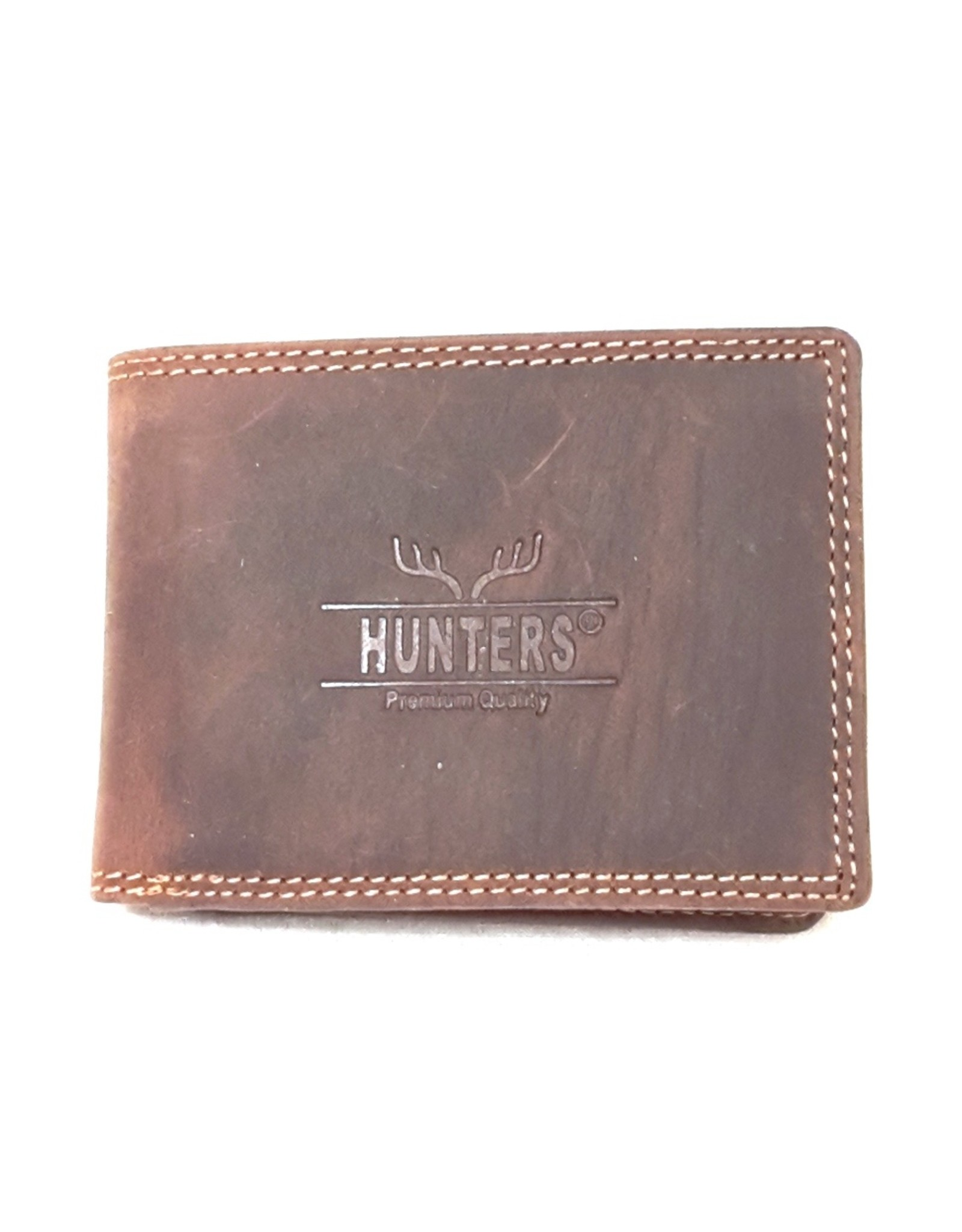 Hunters Leather Wallets - Leather wallet Hunters - Small format