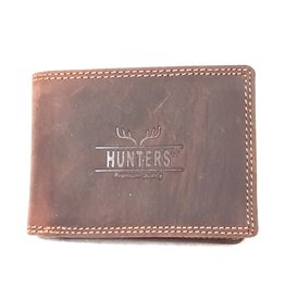Hunters Leren portemonnee Hunters - Klein formaat