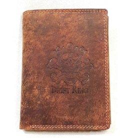 HMT Leather wallet Drift King Skull