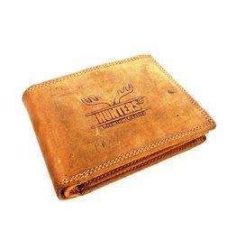 Hunters Leather wallet Hunter light brown (cognac)