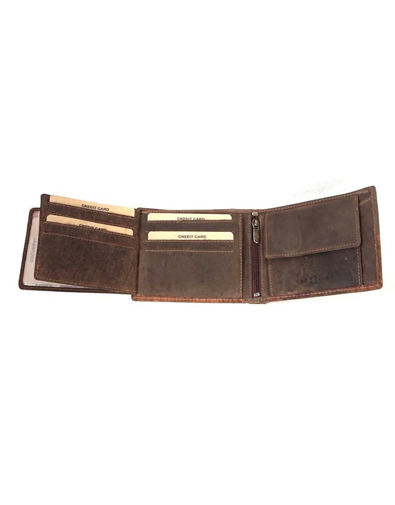 Wild Club Only Leather Wallets - Leather wallet Mosaic (horizontal)