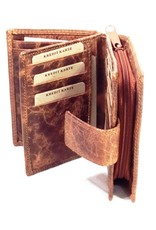 Wild Thing Leather Wallets - Leather wallet Wild Thing vertical (light brown)