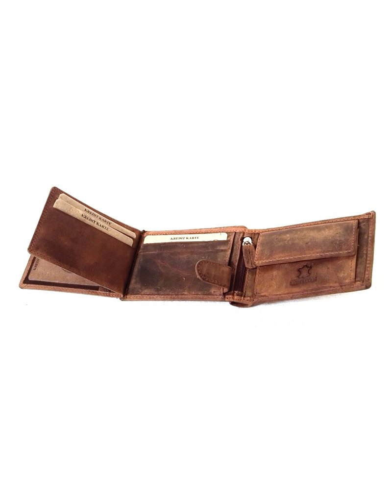 Hunter Leather Wallets - Leather wallet King of the Road