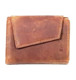 BestBull Leather wallet with cover BestBull (brown)