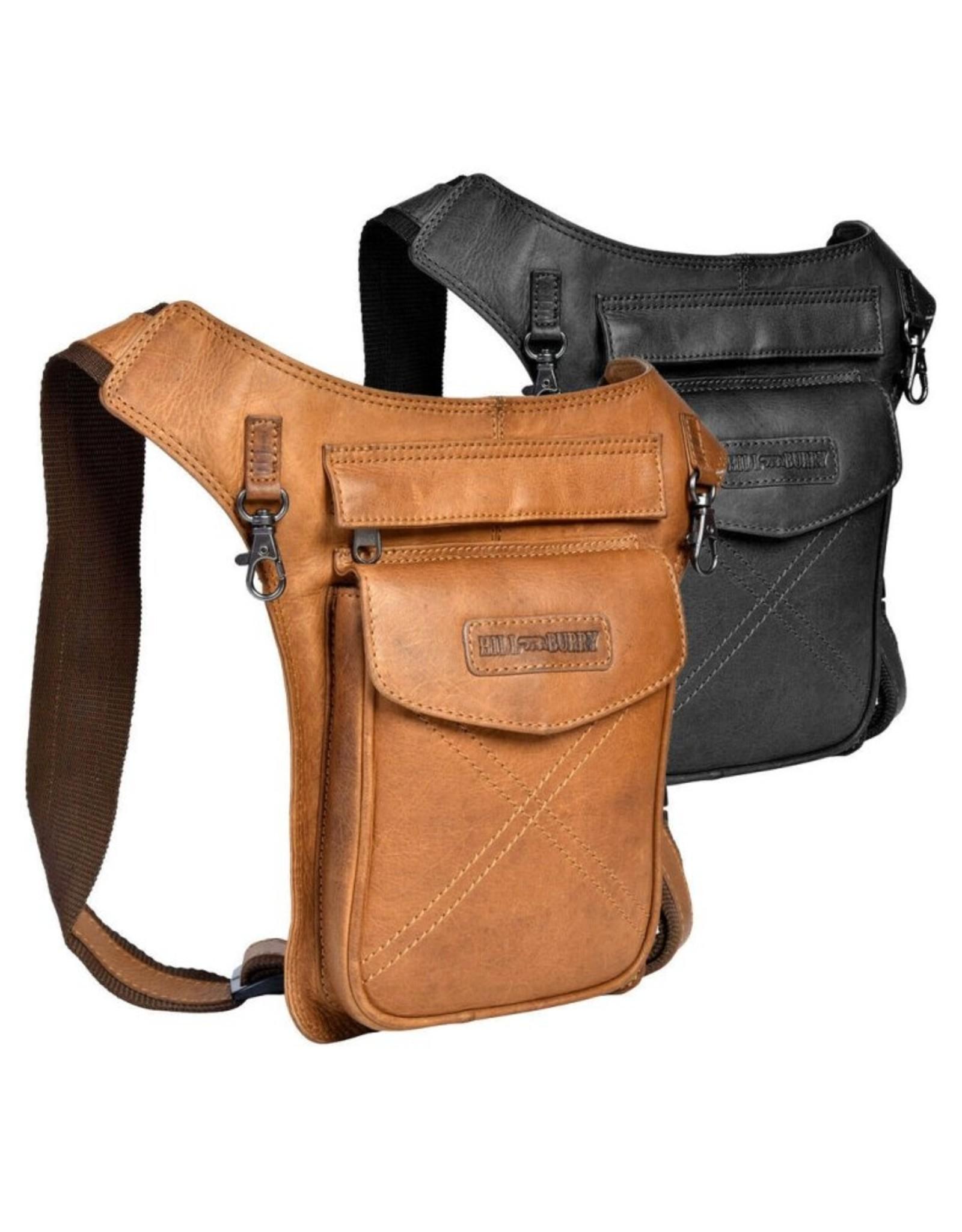 HillBurry Leather bags - Leather Waist Bag HillBurry 3113cg