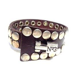 Leren Armband N3 wikkel