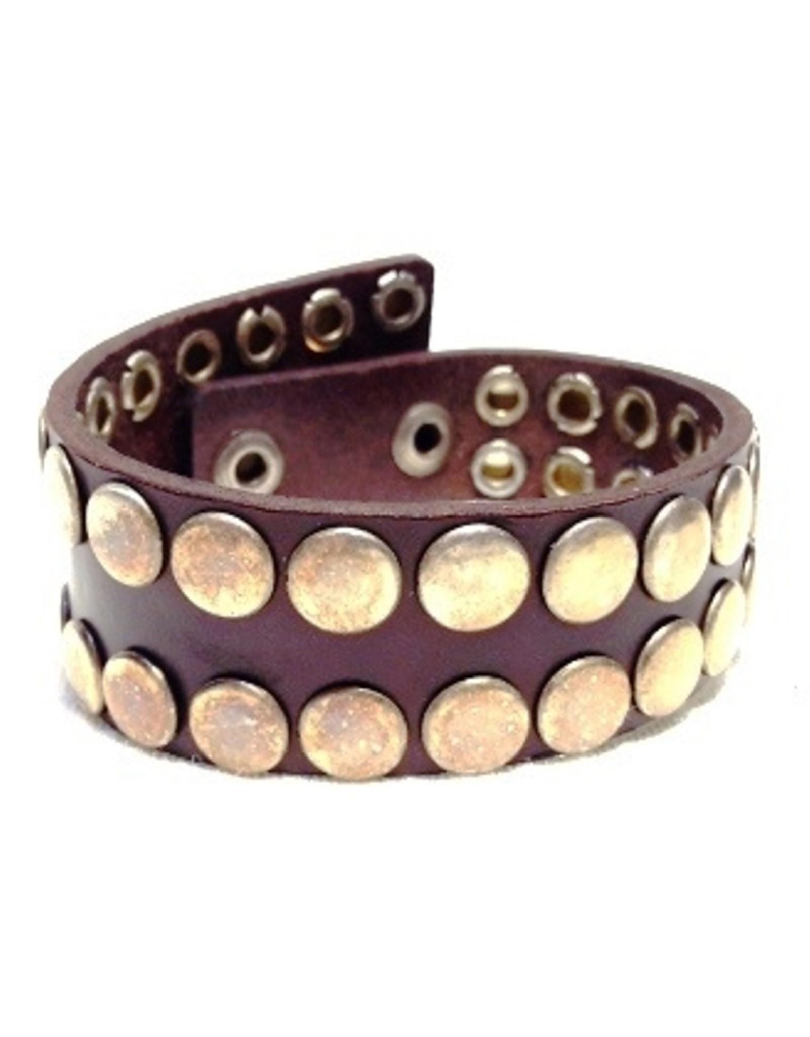 Accessoires - Leren Armband N3 wikkel