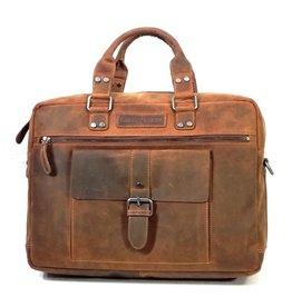 HillBurry HillBurry Leather Laptop bag (Buffalo leather)