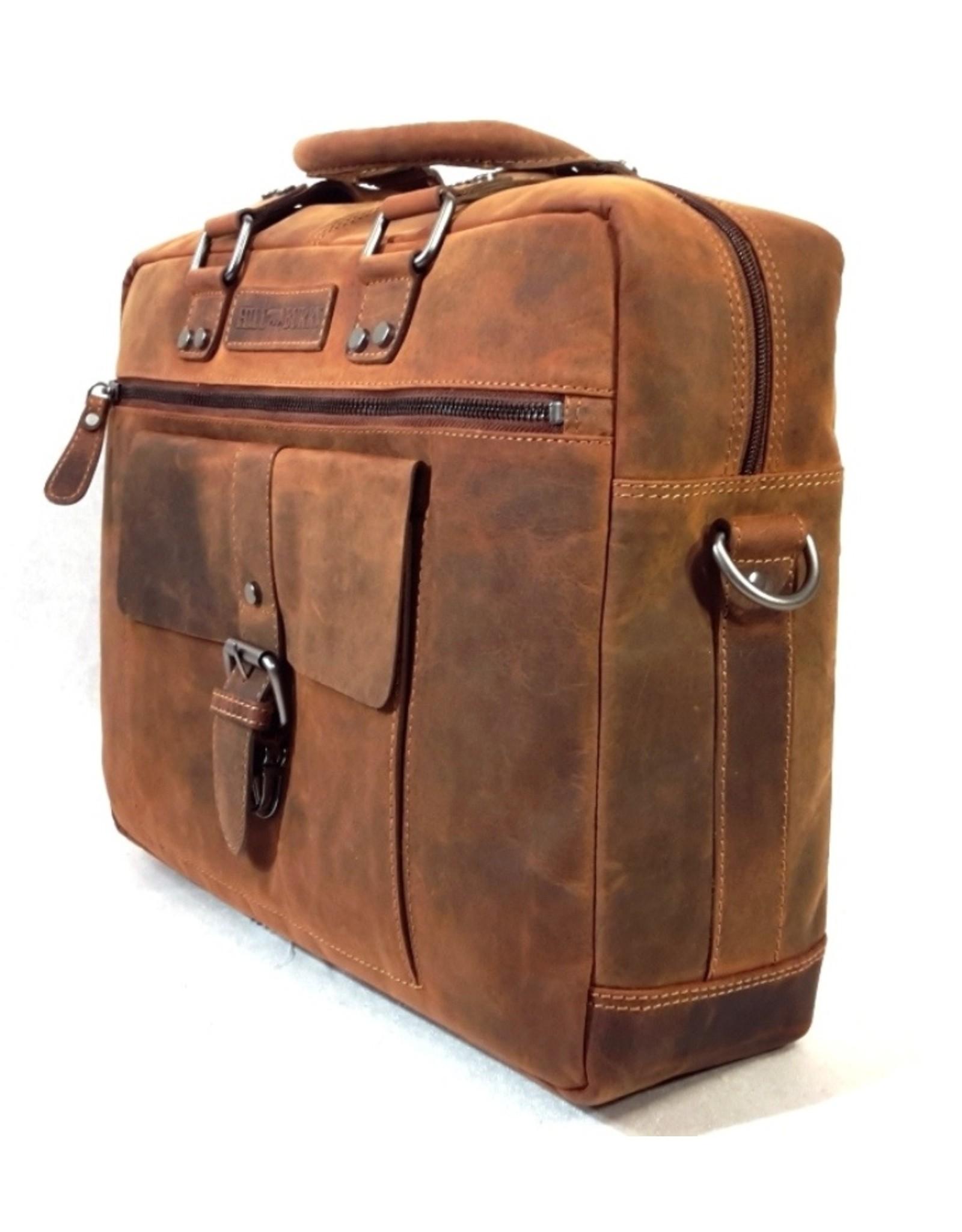 HillBurry Leather bags - HillBurry Leather Laptop bag (Buffalo leather)