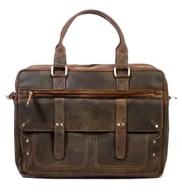 Me Prom Me Prom Leather Work-Laptop bag (Buffalo leather)