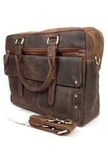 Me Prom Leather bags - Me Prom Leren Werk-Laptop bag
