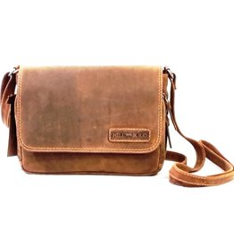 HillBurry HillBurry Leather shoulder bag with Organizer