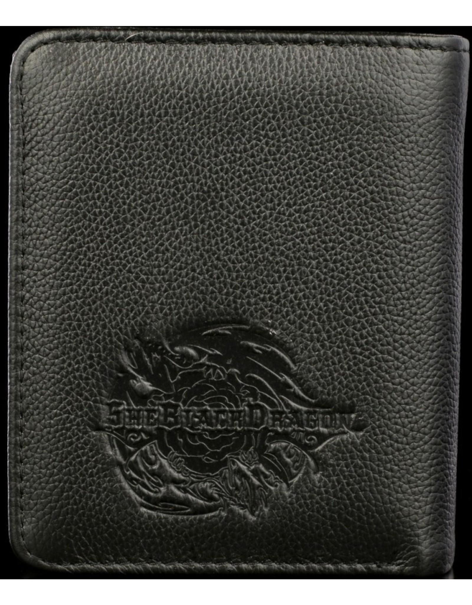 SheBlackDragon Gothic portemonnees - SheBlackDragon 3D portemonnee Grim Six (Guns and Roses)