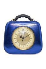 Trukado Vintage tassen Retro tassen - Retro tas met werkende klok