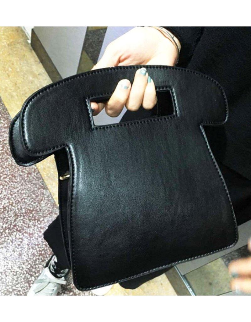 "Magic Bags Fantasy tassen en portemonnees - Fantasy handtas Retro Telefoon ""Call Me"" (zwart)"