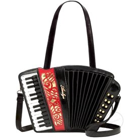 Magic Bags Fantasy handtas Accordeon lak (zwart)