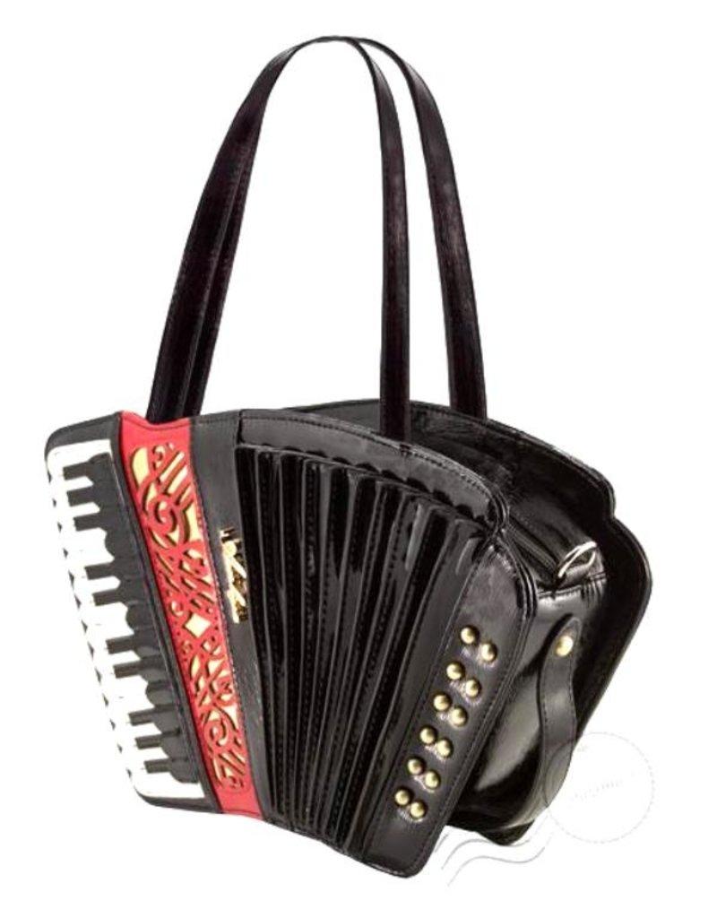 Magic Bags Fantasy tassen en portemonnees - Fantasy handtas Accordeon lak (zwart)