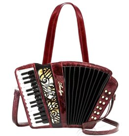 Magic Bags Fantasy handtas Accordeon (metallic rood)