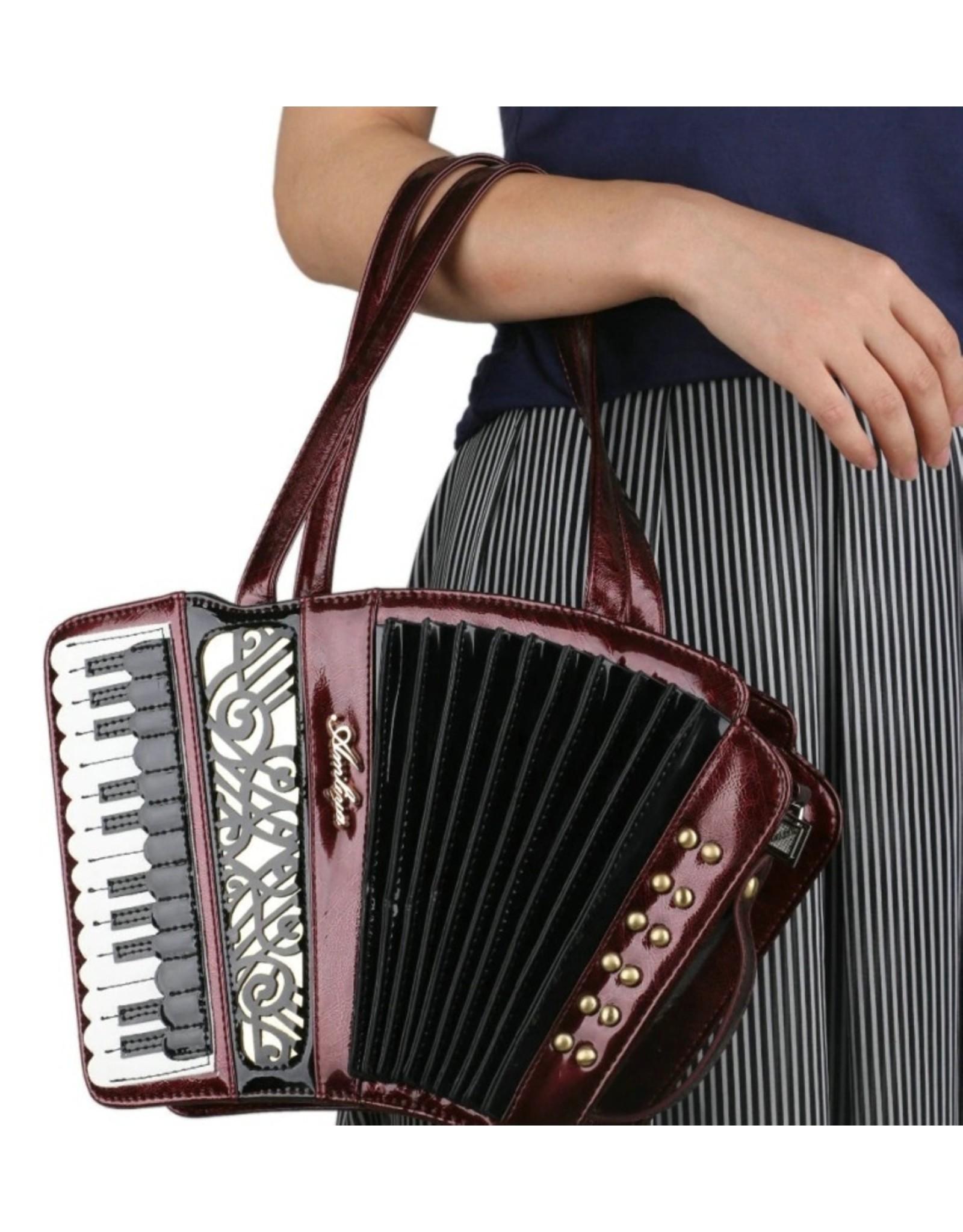 Magic Bags Fantasy bags and wallets - Fantasy handbag Accordion (metallic red)