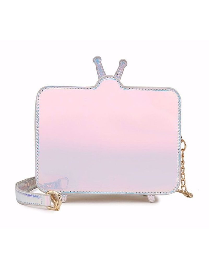 Magic Bags Fantasy tassen en portemonnees - Holografische Fantasy crossbody tas Retro TV - Brain Washed