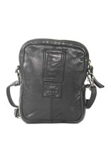 Bear Design Small leather bags, clutches and more - Bear Design shoulder bag Vikas (black)